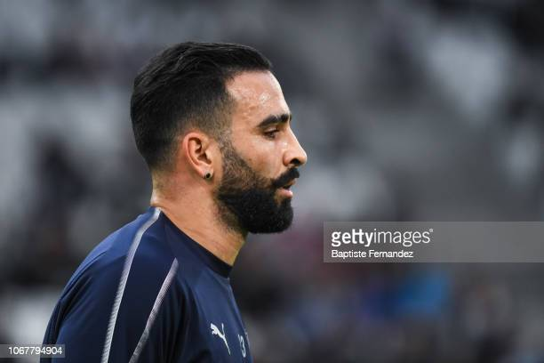 Adil Rami of Marseille during the French Ligue 1 football match between Olympique Marseille and Stade de Reims on December 2 2018 in Marseille France