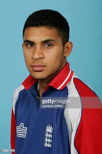 Adil Rashid of England A during a photocall for the England A And Under 19 Cricket squads at The ECB Cricket Academy on January 11 2007 in...