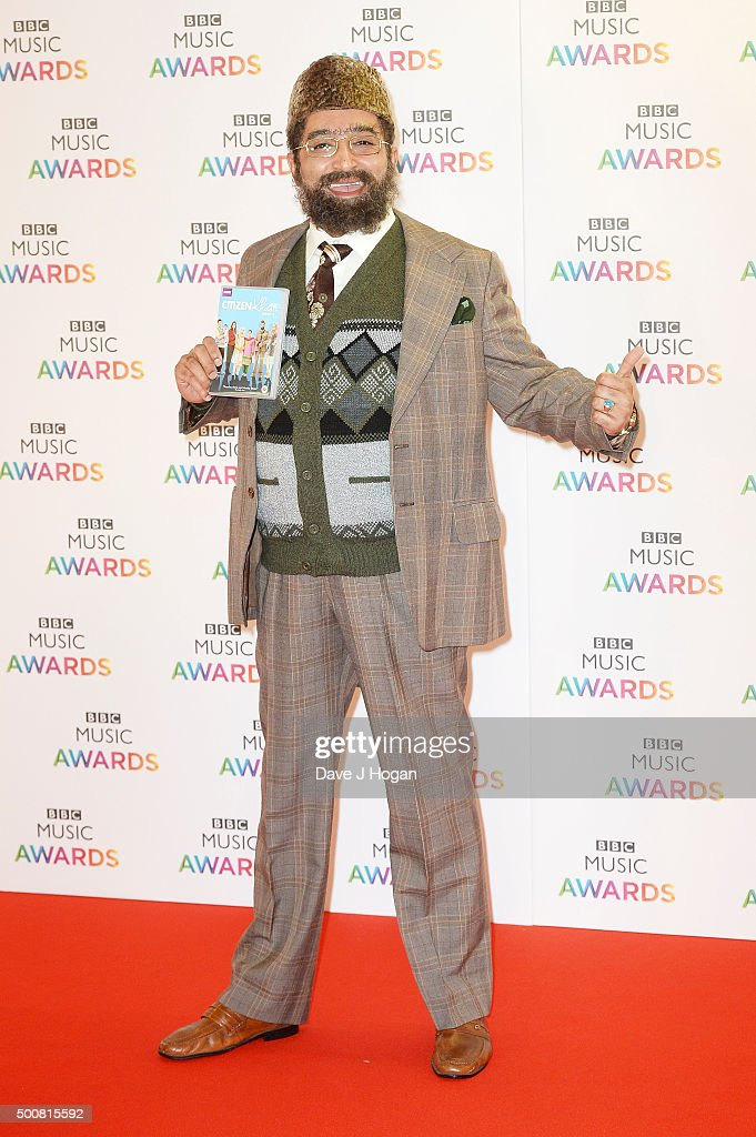 Adil Ray attends the BBC Music Awards at Genting Arena on December 10, 2015 in Birmingham, England.
