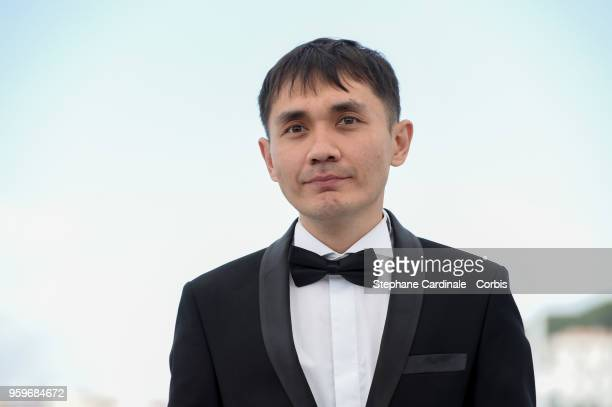 Adilkhan Yerzhanov attends 'The Gentle Indifference Of The Word' Photocall during the 71st annual Cannes Film Festival at Palais des Festivals on May...
