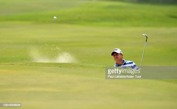 Adilson Da Silva of Brazil during the third round of the HONMA Hong Kong Open presented by Amundi at Hong Kong Golf Club on November 24 2018 in Hong...