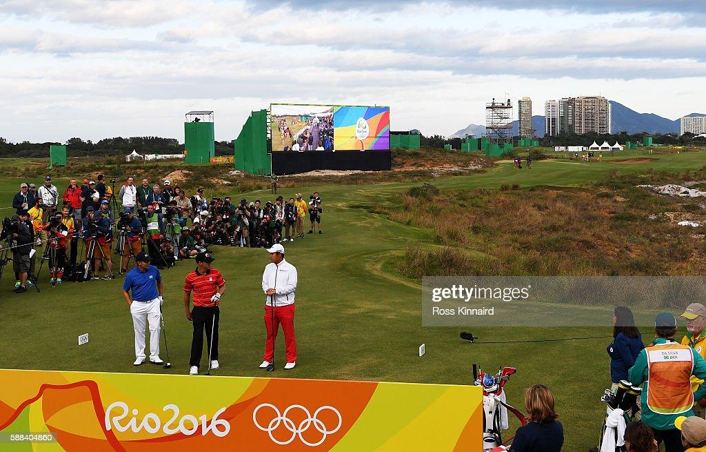 Golf - Olympics: Day 6 : News Photo