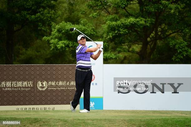 Adilson Da Silva of Brazil pictured during final round of the Yeangder Tournament Players Championship at Linkou lnternational Golf and Country Club...
