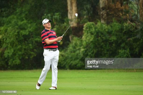 Adilson Da Silva of Brazil pictured during final round of the Honma Hong Kong Open at The Hong Kong Golf Club on November 25, 2018 in Hong Kong, Hong...
