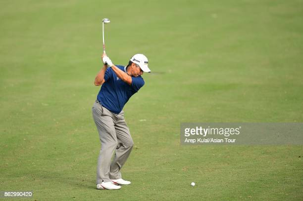 Adilson Da Silva of Brazil pictured during the first round of the Macao Open 2017 at Macau Golf and Country Club on October 19 2017 in Macau Macau