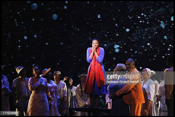 Adina Aaron at The Opening Night Of The Opera Treemonisha By Scott Jopin At The Theatre Du Chatelet In Paris