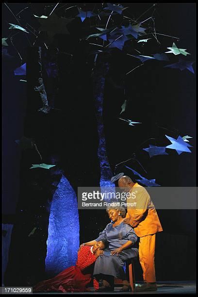 Adina Aaron Grace Bumbry Willard White at The Opening Night Of The Opera Treemonisha By Scott Jopin At The Theatre Du Chatelet In Paris