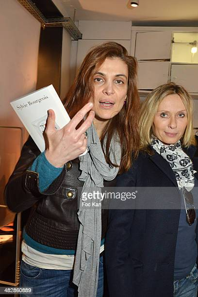 Adina Cartianu and Valerie Steffen attend the 'J'aime Ton Mari' Sylvie Bourgeois Harel Book Reading Cocktail at La Fee Maraboutee Yvonne Le Tac Shop...