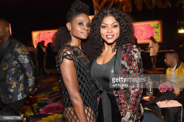Adina Porter and Taraji P Henson attend HBO's Official 2018 Emmy After Party on September 17 2018 in Los Angeles California