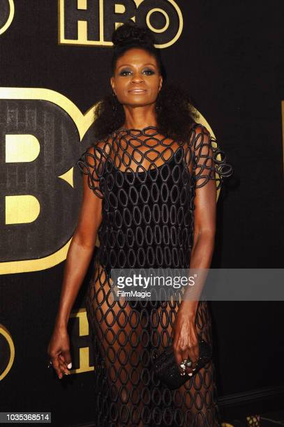Adina Porter arrives at HBO's Official 2018 Emmy After Party on September 17 2018 in Los Angeles California