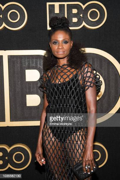 Adina Porter arrives at HBO's Post Emmy Awards Reception at the Plaza at the Pacific Design Center on September 17 2018 in Los Angeles California