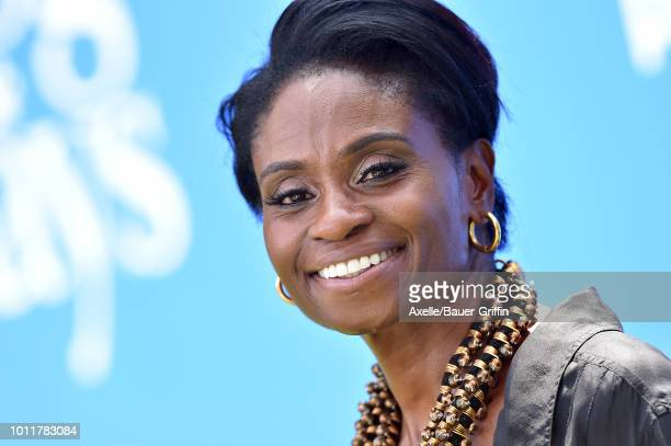 Adina Porter arrives at the premiere of LD Entertainment's 'Dog Days' at Westfield Century City on August 5 2018 in Century City California