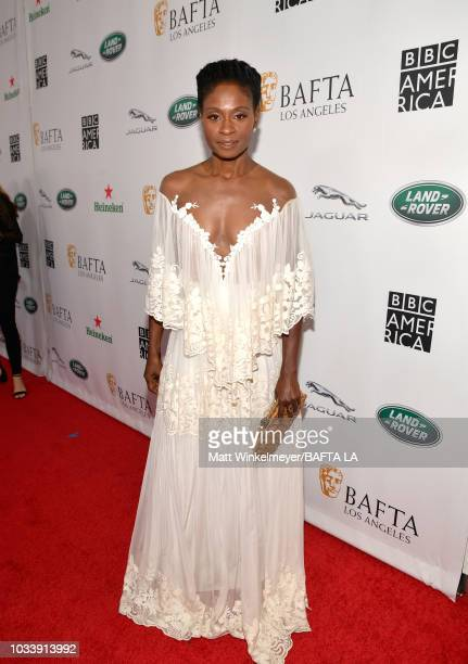 Adina Porter attends BAFTA Los Angeles BBC America TV Tea Party 2018 at The Beverly Hilton Hotel on September 15 2018 in Beverly Hills California