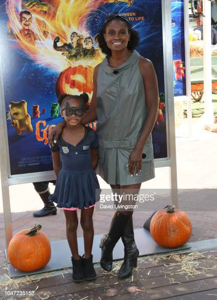 Adina Porter attends Columbia Pictures and Sony Pictures Animation's 'Goosebumps 2 Haunted Halloween' special screening at Sony Pictures Studios on...