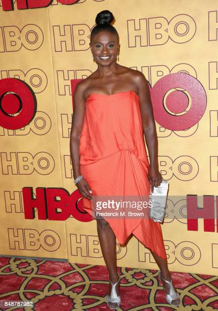 Adina Porter attends HBO's Post Emmy Awards Reception at The Plaza at the Pacific Design Center on September 17 2017 in Los Angeles California