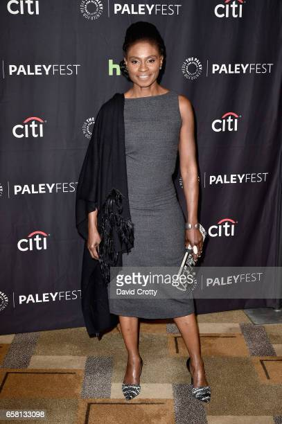 Adina Porter attends PaleyFest Los Angeles 2017 'American Horror Story Roanoke' at Dolby Theatre on March 26 2017 in Hollywood California