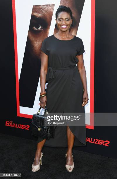 Adina Porter attends premiere of Columbia Picture's 'Equalizer 2' at TCL Chinese Theatre on July 17 2018 in Hollywood California
