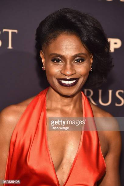 Adina Porter attends the 2018 FX Annual AllStar Party at SVA Theater on March 15 2018 in New York City