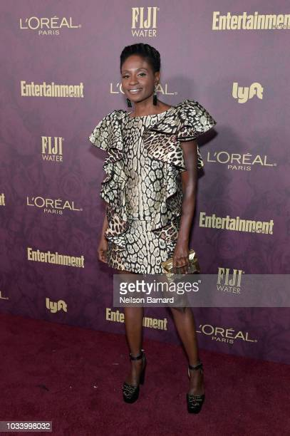 Adina Porter attends the 2018 PreEmmy Party hosted by Entertainment Weekly and L'Oreal Paris at Sunset Tower on September 15 2018 in Los Angeles...