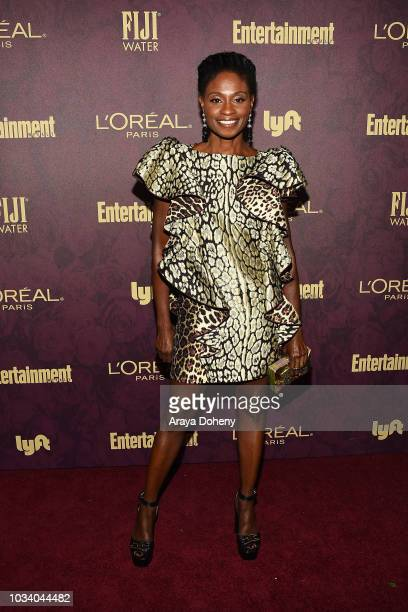Adina Porter attends the 2018 PreEmmy Party hosted by Entertainment Weekly and L'Oreal Paris at Sunset Tower Hotel on September 15 2018 in West...