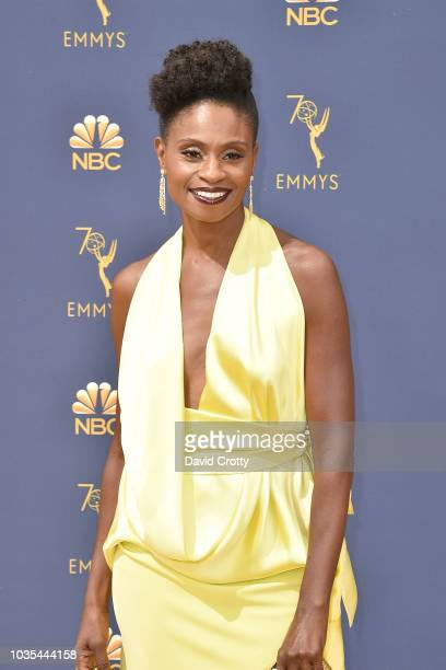 Adina Porter attends the 70th Emmy Awards Arrivals at Microsoft Theater on September 17 2018 in Los Angeles California