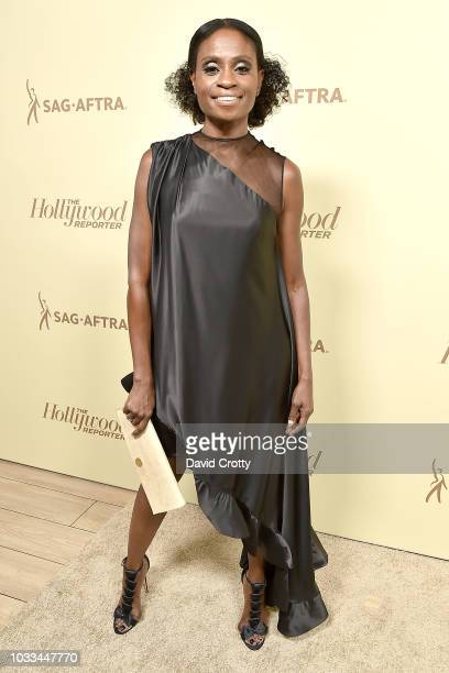 Adina Porter attends The Hollywood Reporter And SAGAFTRA Celebrate Emmy Award Contenders At Annual Nominees Night at Avra Beverly Hills Estiatorio on...