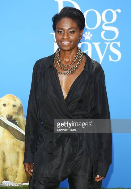 Adina Porter attends the Los Angeles premiere of LD Entertainment's 'Dog Days' held at Westfield Century City on August 5 2018 in Century City...