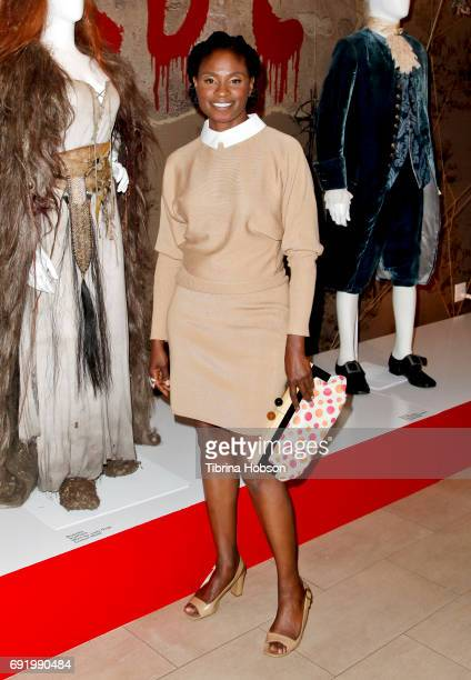 Adina Porter attends The Paley Center for Media Celebration of 'American Horror Story The Style Of Scare' at The Paley Center for Media on June 2...