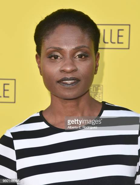 Adina Porter attends the Pasadena Playhouse Presents Opening Night Of 'Belleville' at Pasadena Playhouse on April 22 2018 in Pasadena California