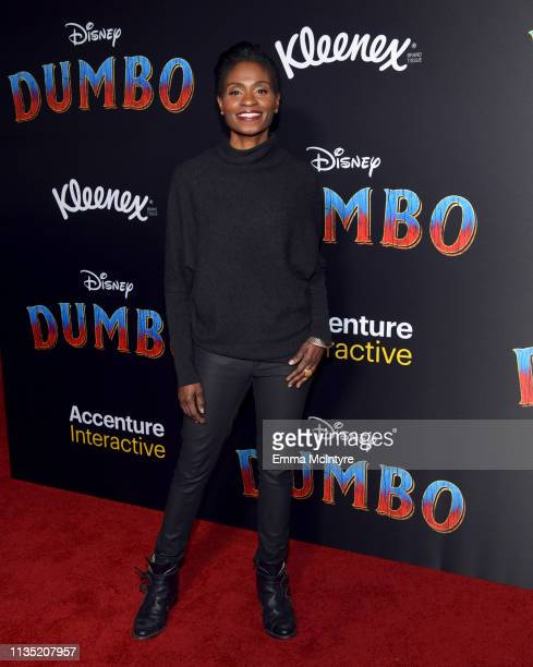 Adina Porter attends the premiere of Disney's 'Dumbo' at El Capitan Theatre on March 11 2019 in Los Angeles California