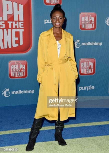 Adina Porter attends the premiere of Disney's 'Ralph Breaks the Internet' at El Capitan Theatre on November 5 2018 in Los Angeles California