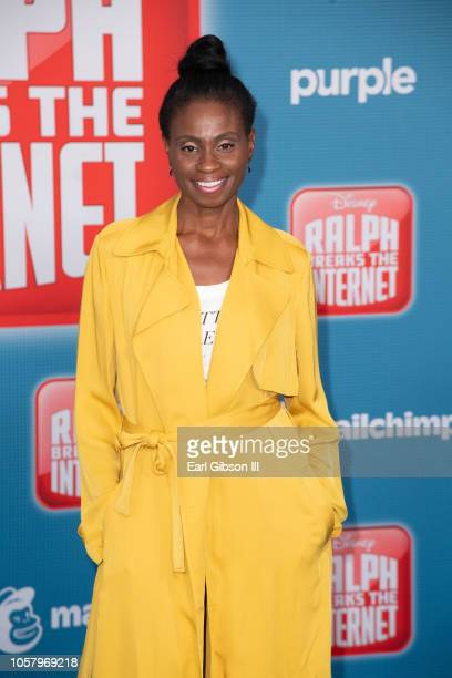 Adina Porter attends the Premiere Of Disney's 'Ralph Breaks The Internet' on November 5 2018 in Los Angeles California