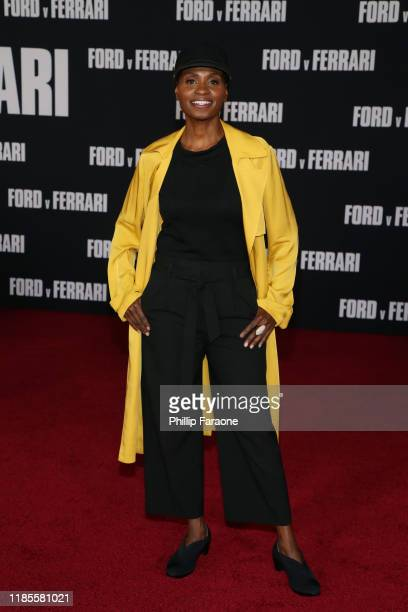 Adina Porter attends the premiere of FOX's Ford V Ferrari at TCL Chinese Theatre on November 04 2019 in Hollywood California