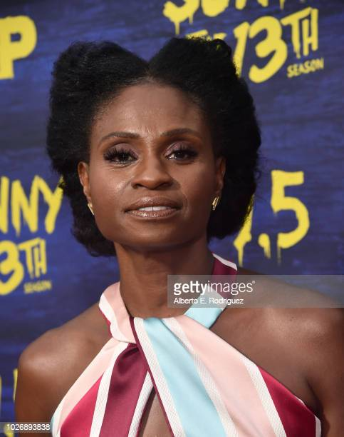 Adina Porter attends the premiere of FXX's 'It's Always Sunny In Philadelphia' Season 13 at Regency Bruin Theatre on September 4 2018 in Los Angeles...