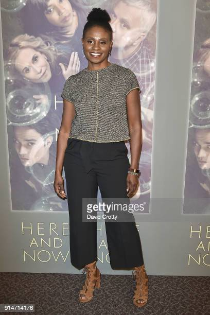 Adina Porter attends the Premiere Of HBO's 'Here And Now' Arrivals at Directors Guild Of America on February 5 2018 in Los Angeles California