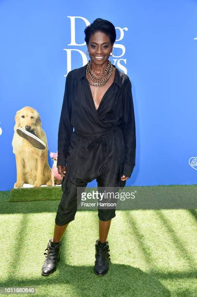 Adina Porter attends the premiere of LD Entertainment's 'Dog Days' at Westfield Century City on August 5 2018 in Century City California
