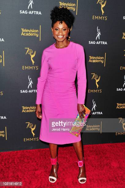 Adina Porter attends the Television Academy and SAGAFTRA CoHost Dynamic Diverse Emmy Celebration at Saban Media Center on September 11 2018 in North...