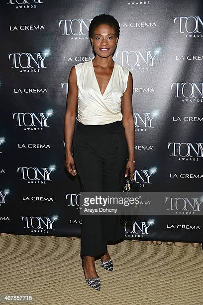 Adina Porter attends The Tony Awards Celebrate Broadway in Hollywood at Sunset Tower on March 25 2015 in West Hollywood California