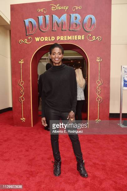 Adina Porter attends the World Premiere of Disney's 'Dumbo' at the El Capitan Theatre on March 11 2019 in Los Angeles California