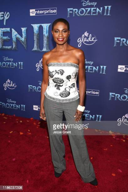 Adina Porter attends the world premiere of Disney's Frozen 2 at Hollywood's Dolby Theatre on Thursday November 7 2019 in Hollywood California