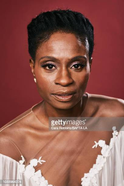 Adina Porter poses for a portrait at BAFTA Los Angeles BBC America TV Tea Party 2018 on September 15 2018 in Beverly Hills California