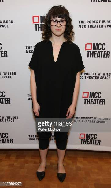 Adina Verson attends the opening night performance of the MCC Theater's 'Alice By Heart' at The Robert W Wilson Theater Space on February 26 2019 in...