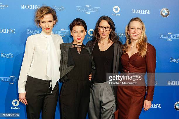 Adina Vetter Martina Ebm Maria Koestlinger and NIna Proll attend the Blue Hour Reception hosted by ARD during the 66th Berlinale International Film...
