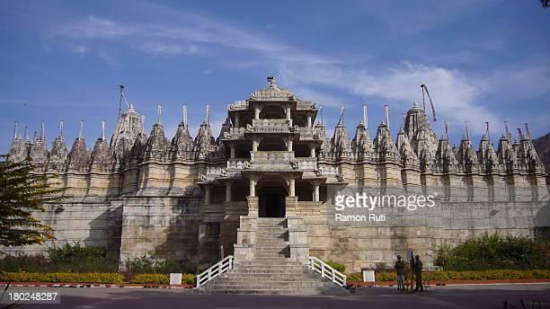adinath jain temple, ranakpur - ranakpur temple stock photos and pictures