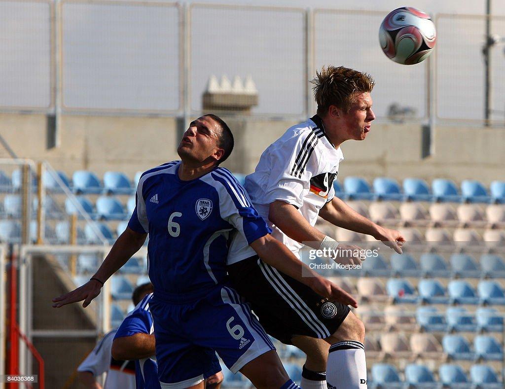 U18 Israel v U18 Germany - International Friendly : News Photo