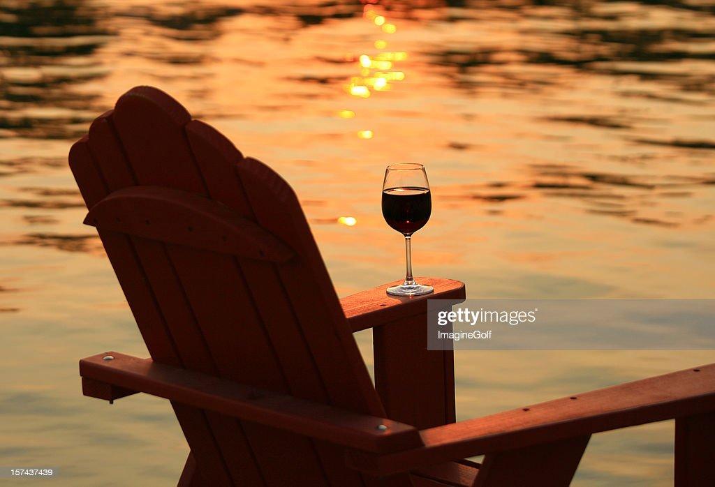 adirondack chairs on beach sunset. Contemporary Chairs Adirondack Chairs On Beach Sunset Adirondack Chair And Wine At Sunset By  Lake Chairs On Beach