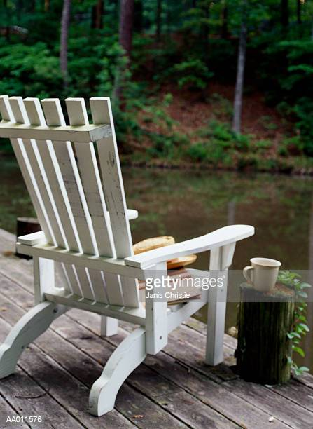 Adirondack Chair on a Dock
