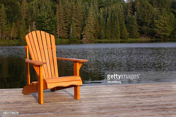 adirondack chair stock photos and pictures getty images. Black Bedroom Furniture Sets. Home Design Ideas