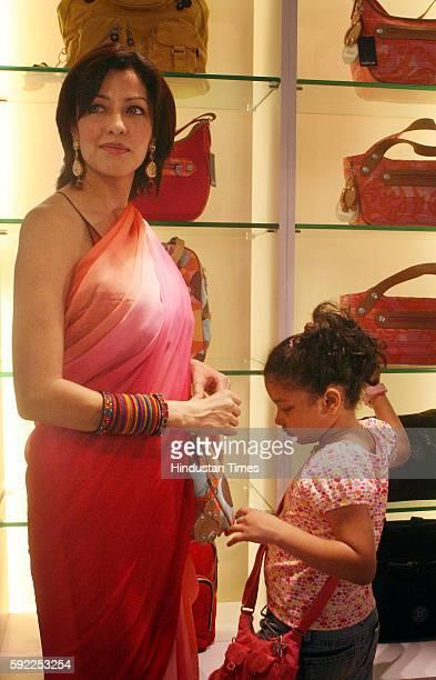 Aditi Govitrikar at launch of Kipling shop at Linking Road