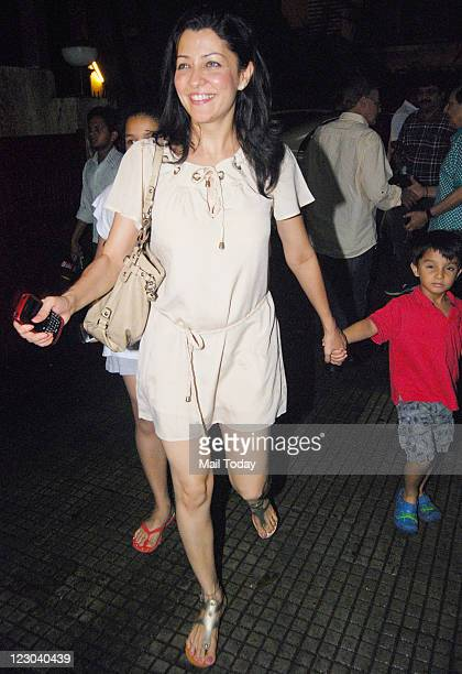Aditi Govitrikar at the special screening of film BodyGuard at Pixion in Mumbai on August 29 2011